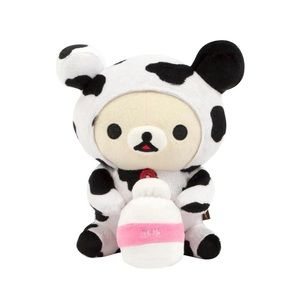Korilakkuma milk cow plush